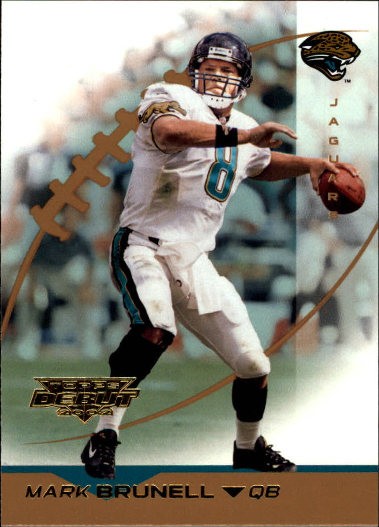 2002 Topps Debut #4 Mark Brunell