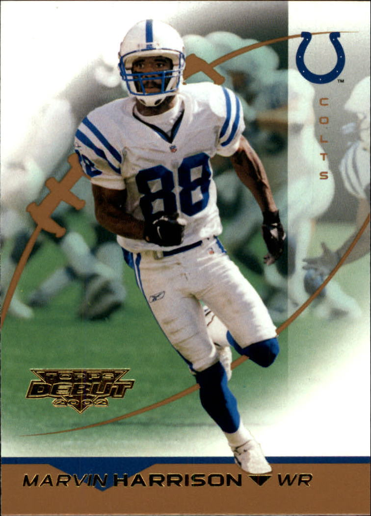 2002 Topps Debut #7 Marvin Harrison