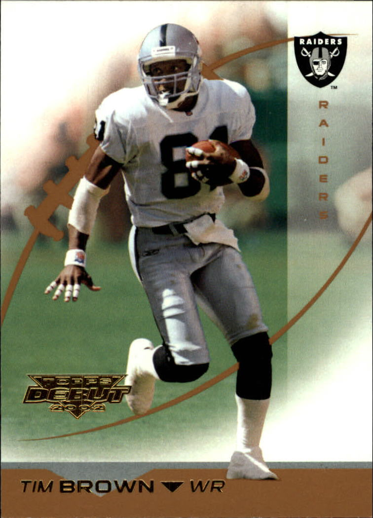 2002 Topps Debut #10 Tim Brown