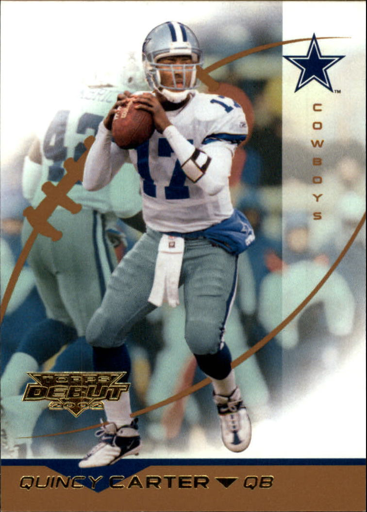 2002 Topps Debut #17 Quincy Carter