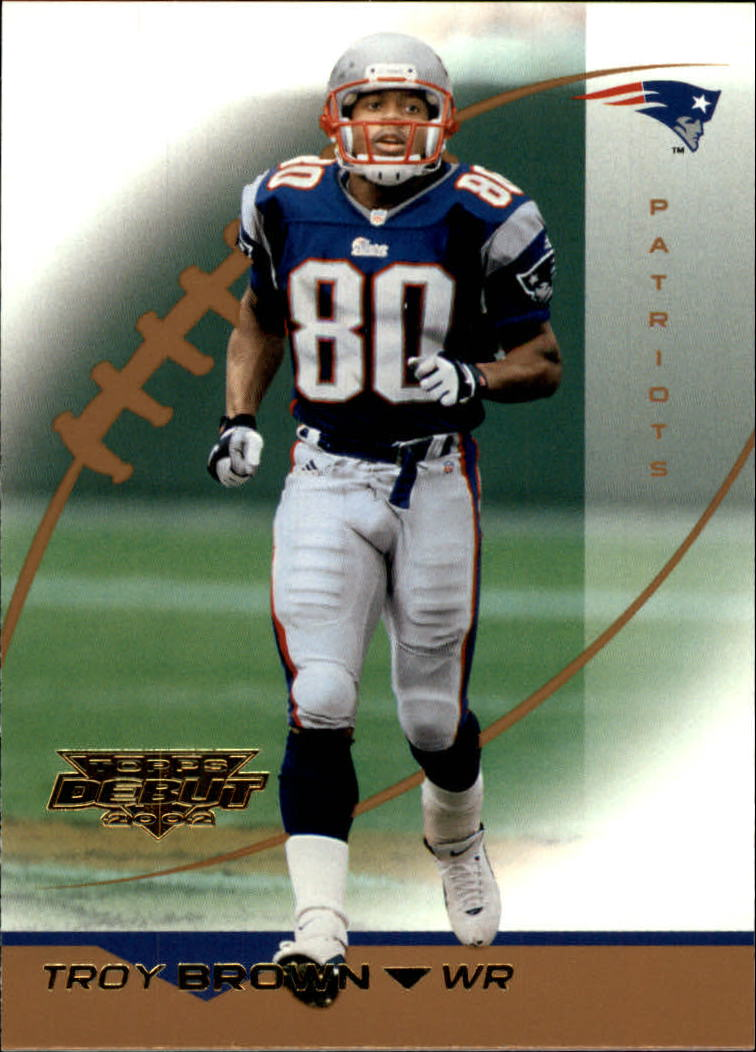 2002 Topps Debut #21 Troy Brown