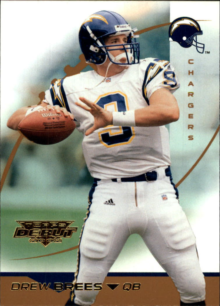 2002 Topps Debut #22 Drew Brees