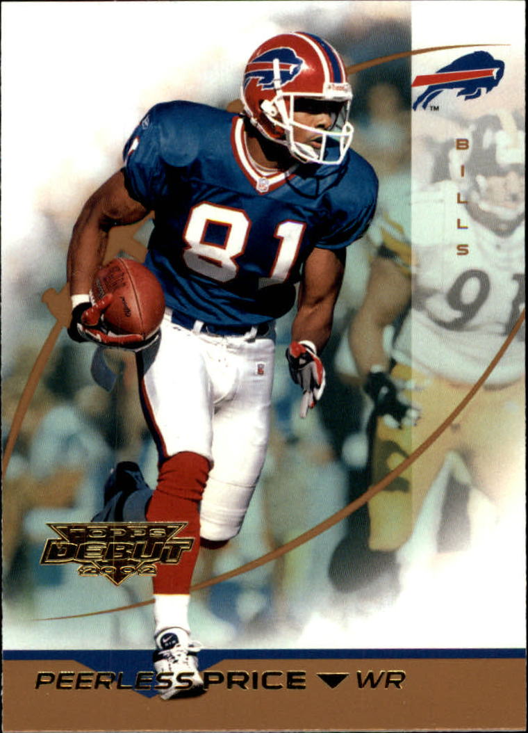 2002 Topps Debut #27 Peerless Price