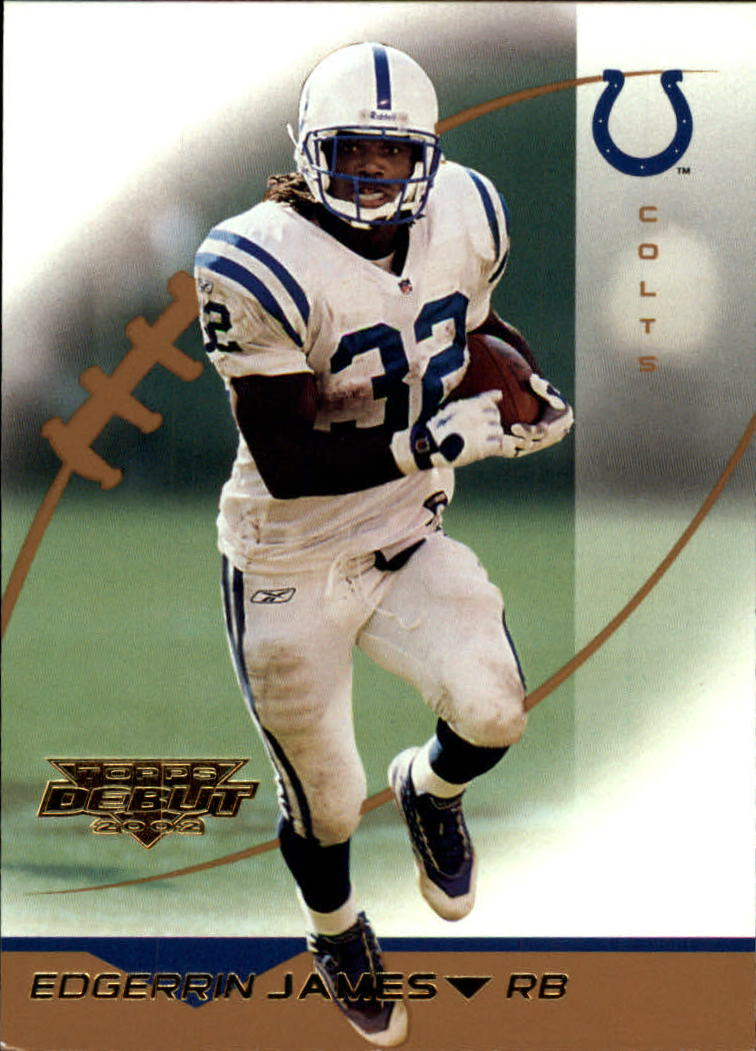 2002 Topps Debut #30 Edgerrin James