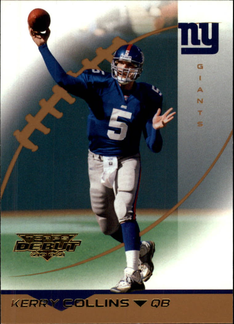 2002 Topps Debut #36 Kerry Collins