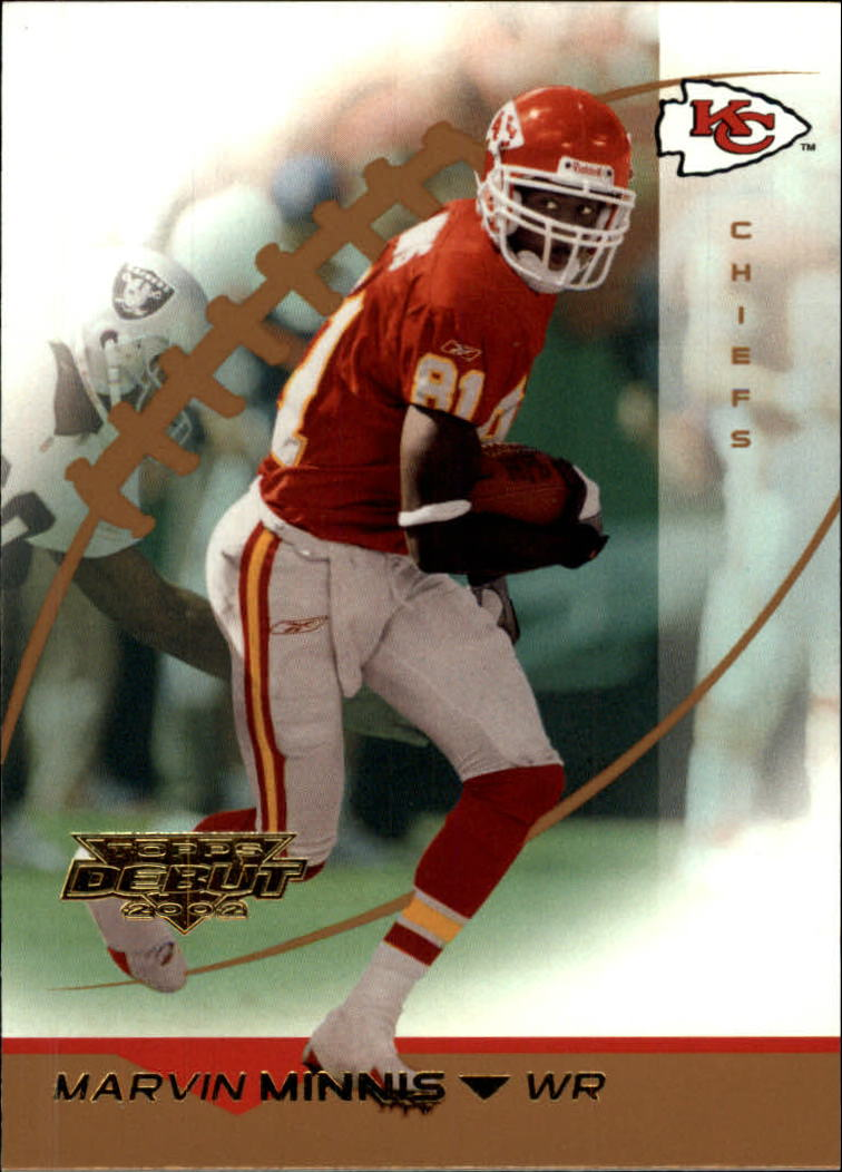 2002 Topps Debut #42 Snoop Minnis