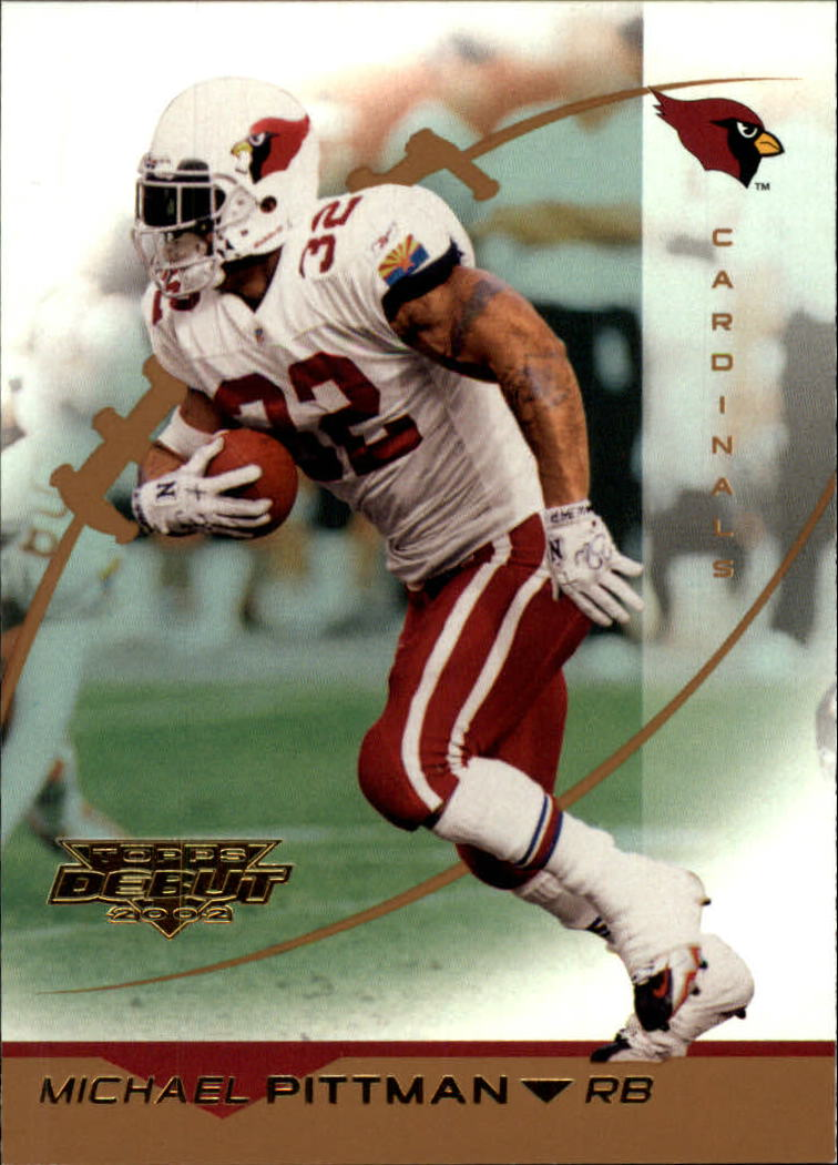 2002 Topps Debut #54 Michael Pittman