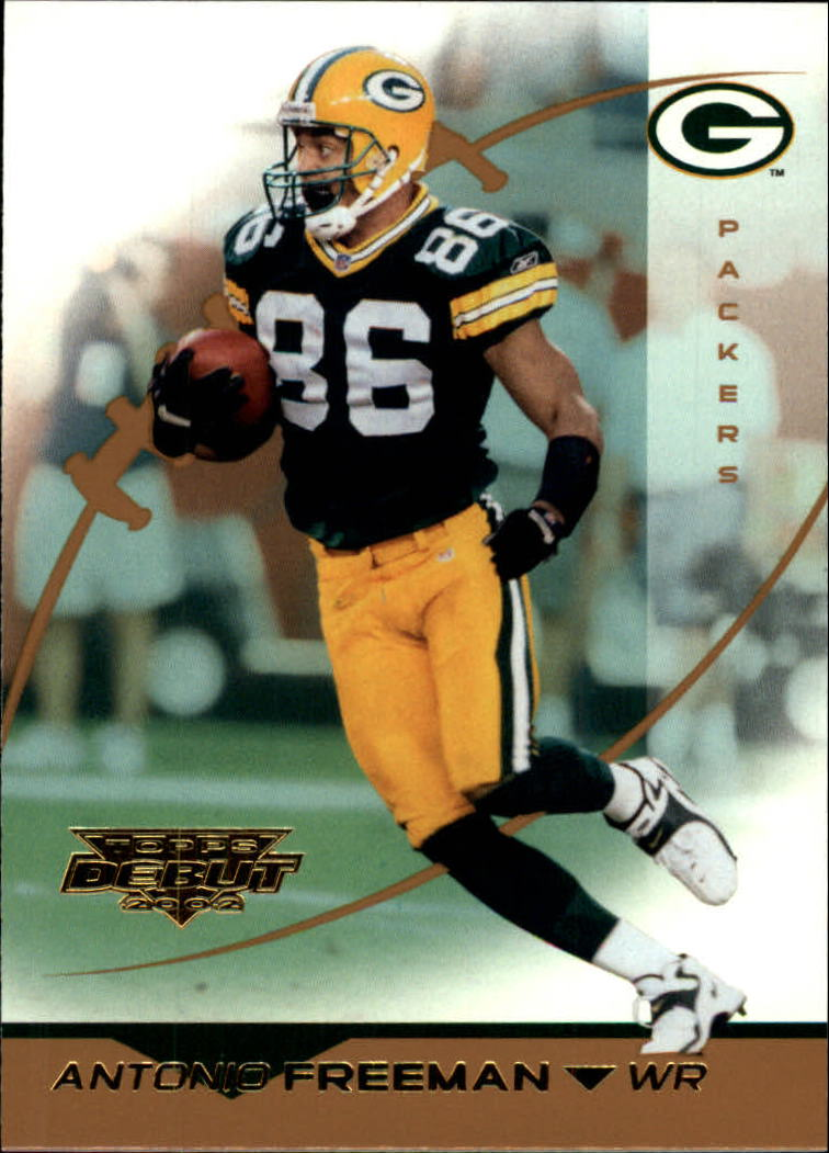 2002 Topps Debut #55 Antonio Freeman
