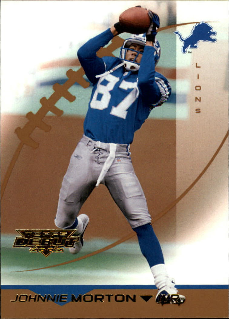 2002 Topps Debut #63 Johnnie Morton