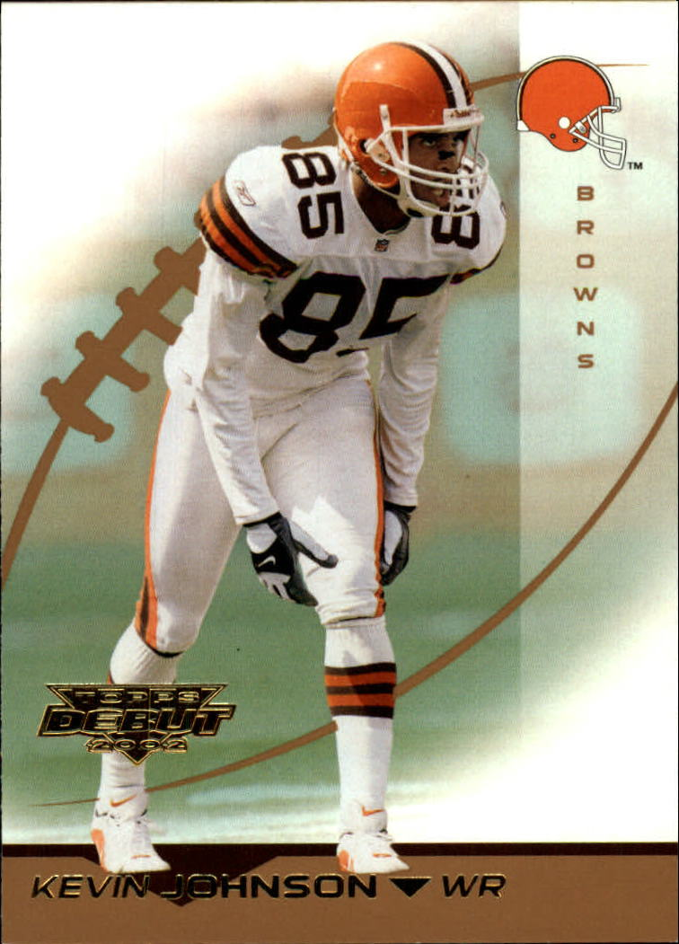 2002 Topps Debut #64 Kevin Johnson