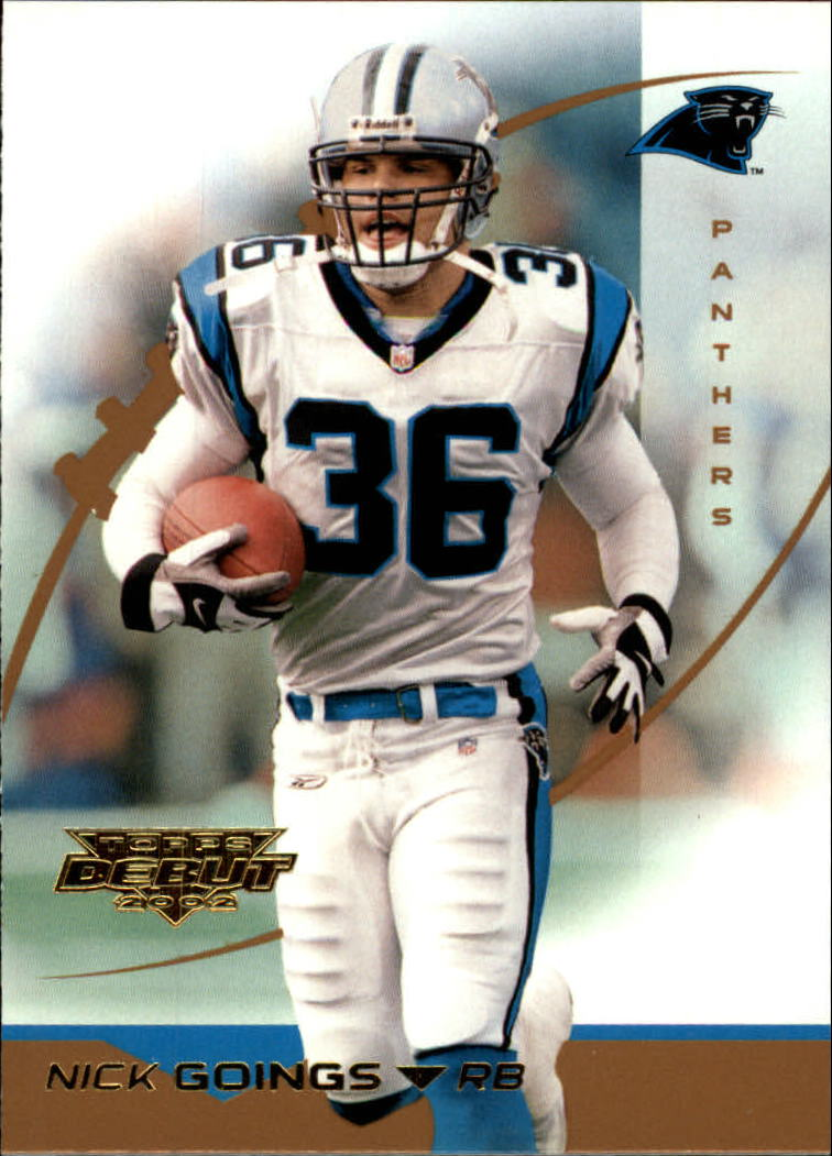 2002 Topps Debut #65 Nick Goings