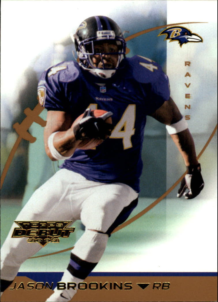 2002 Topps Debut #66 Jason Brookins