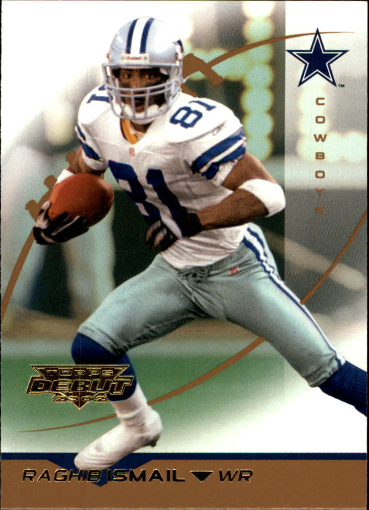 2002 Topps Debut #80 Rocket Ismail
