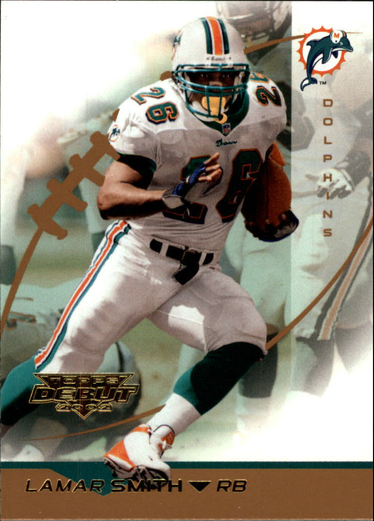 2002 Topps Debut #82 Lamar Smith