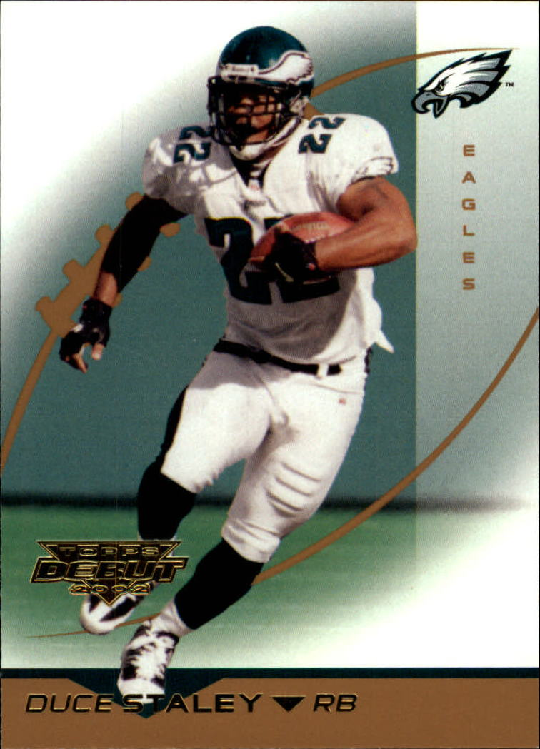 2002 Topps Debut #84 Duce Staley