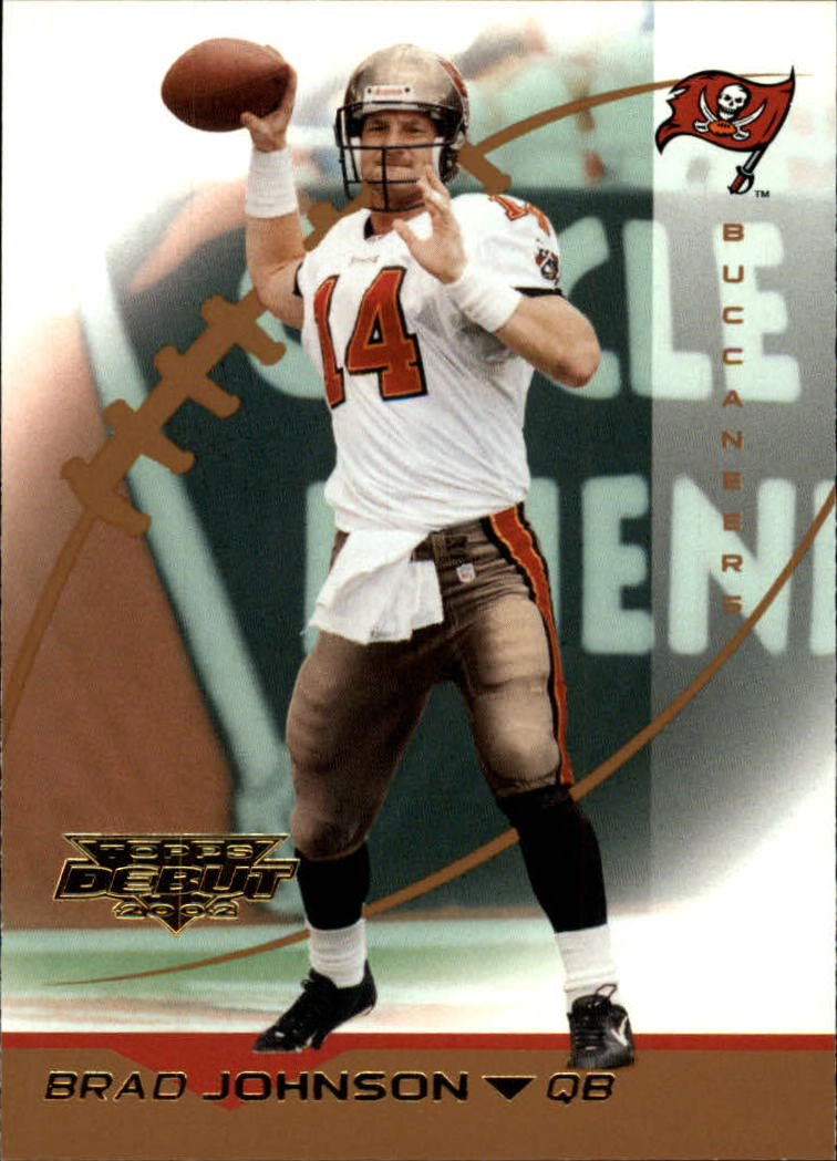 2002 Topps Debut #87 Brad Johnson