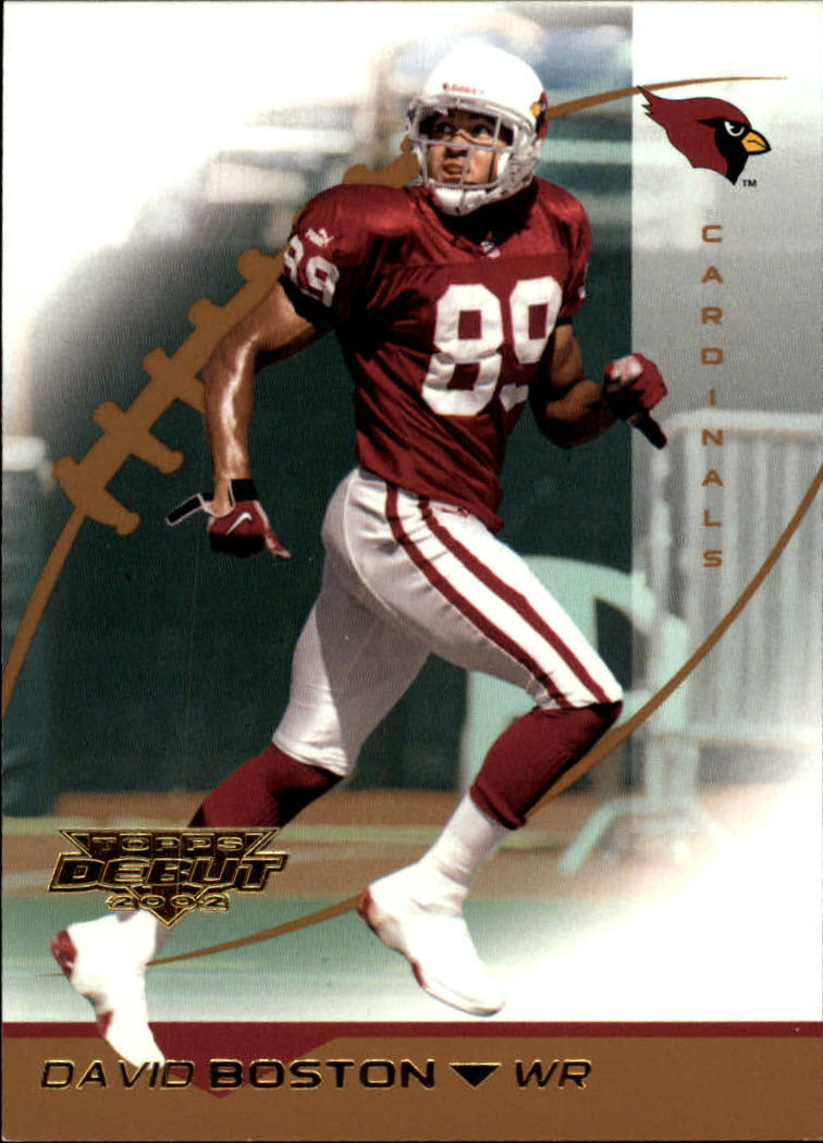 2002 Topps Debut #92 David Boston