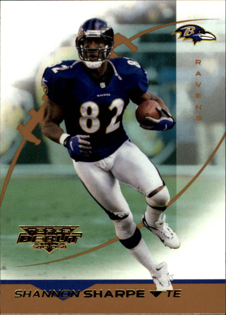 2002 Topps Debut #93 Shannon Sharpe