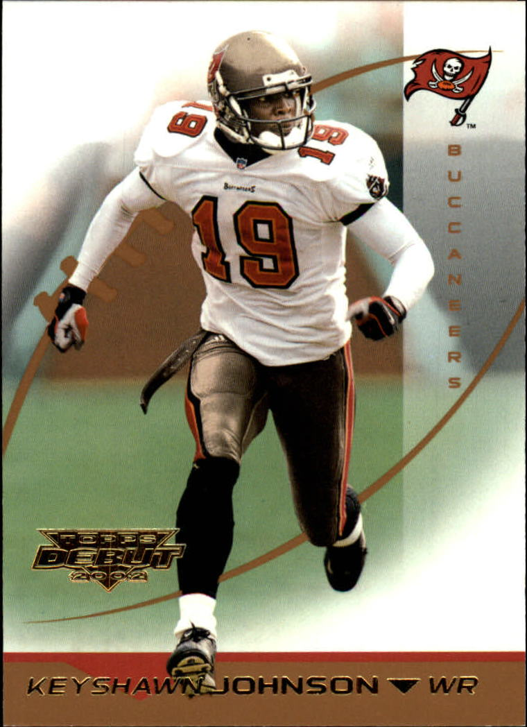 2002 Topps Debut #98 Keyshawn Johnson
