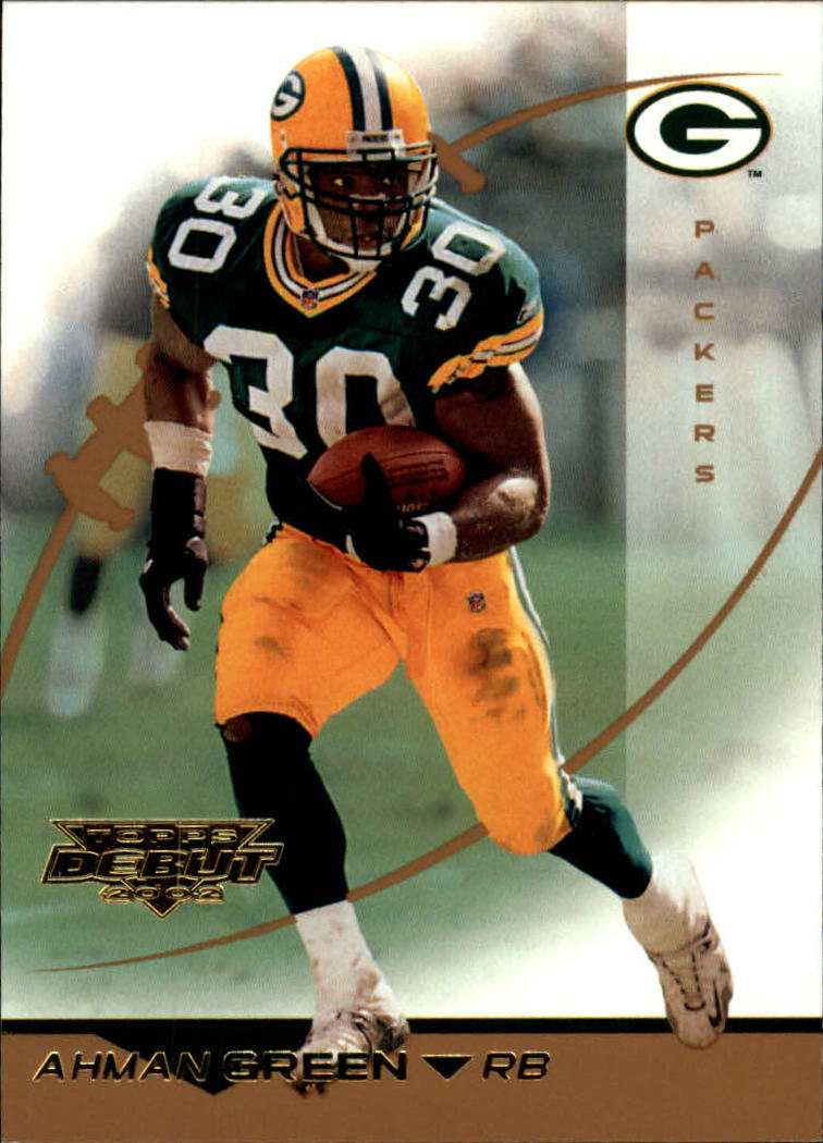 2002 Topps Debut #106 Ahman Green