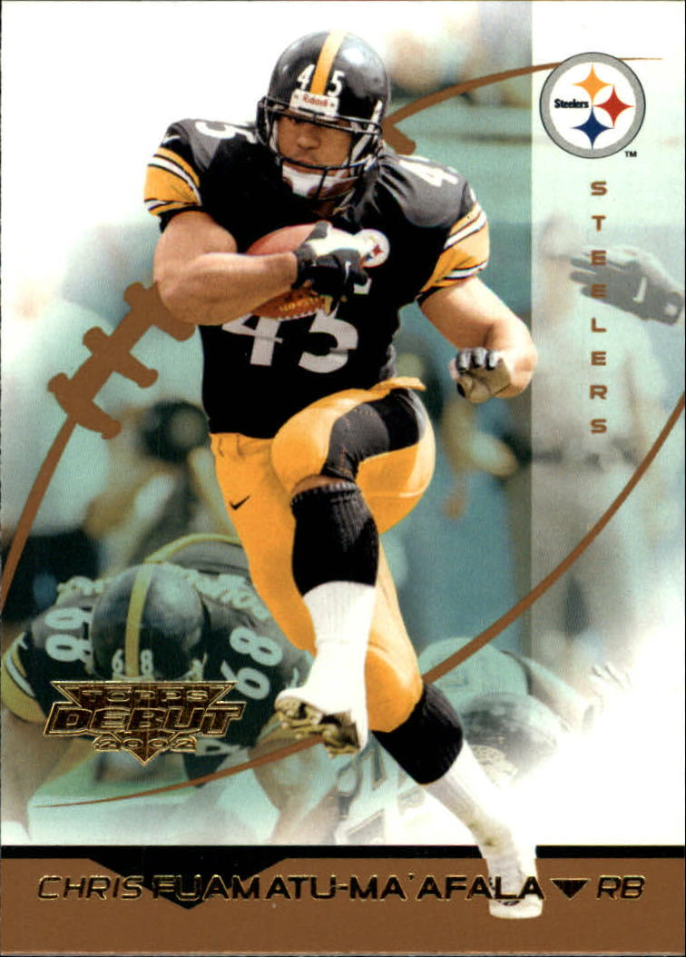 2002 Topps Debut #117 Chris Fuamatu-Ma'afala