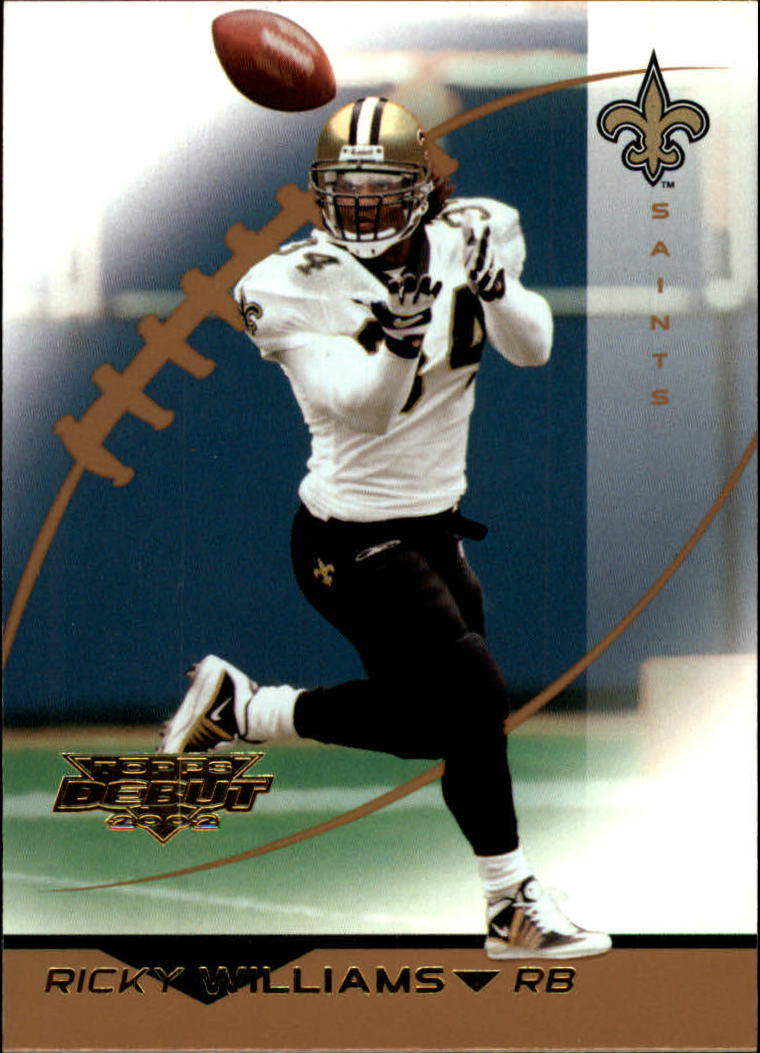 2002 Topps Debut #127 Ricky Williams