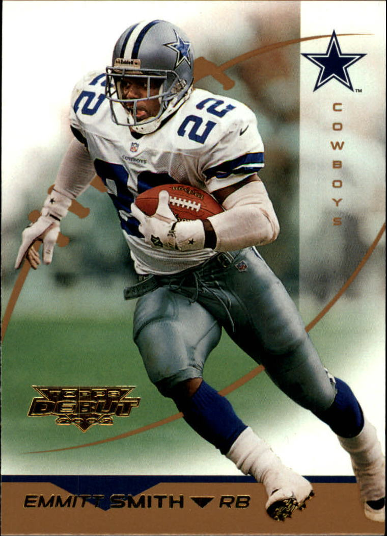 2002 Topps Debut #130 Emmitt Smith