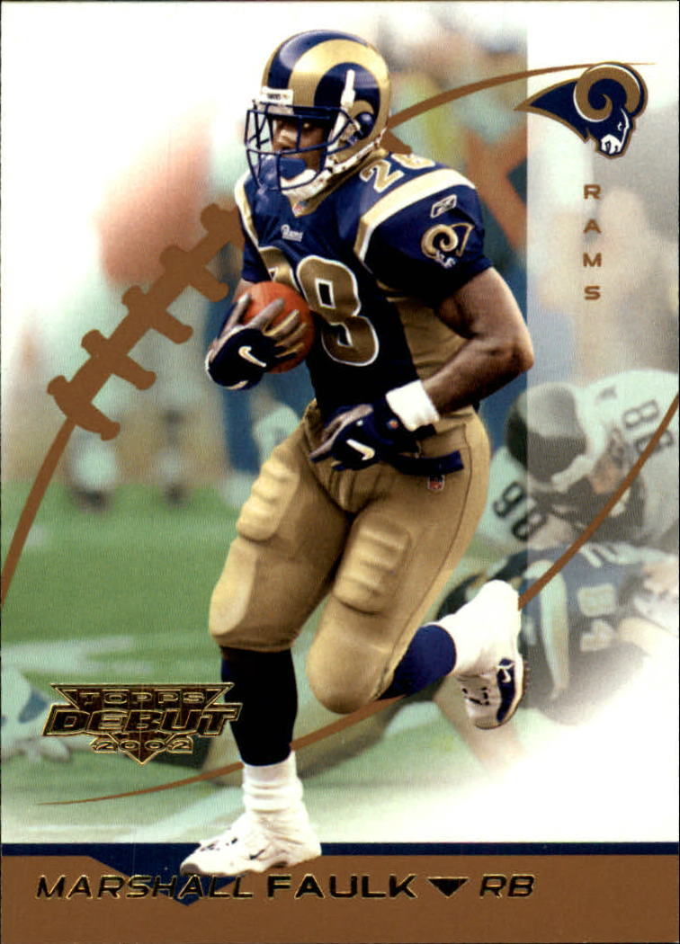 2002 Topps Debut #141 Marshall Faulk
