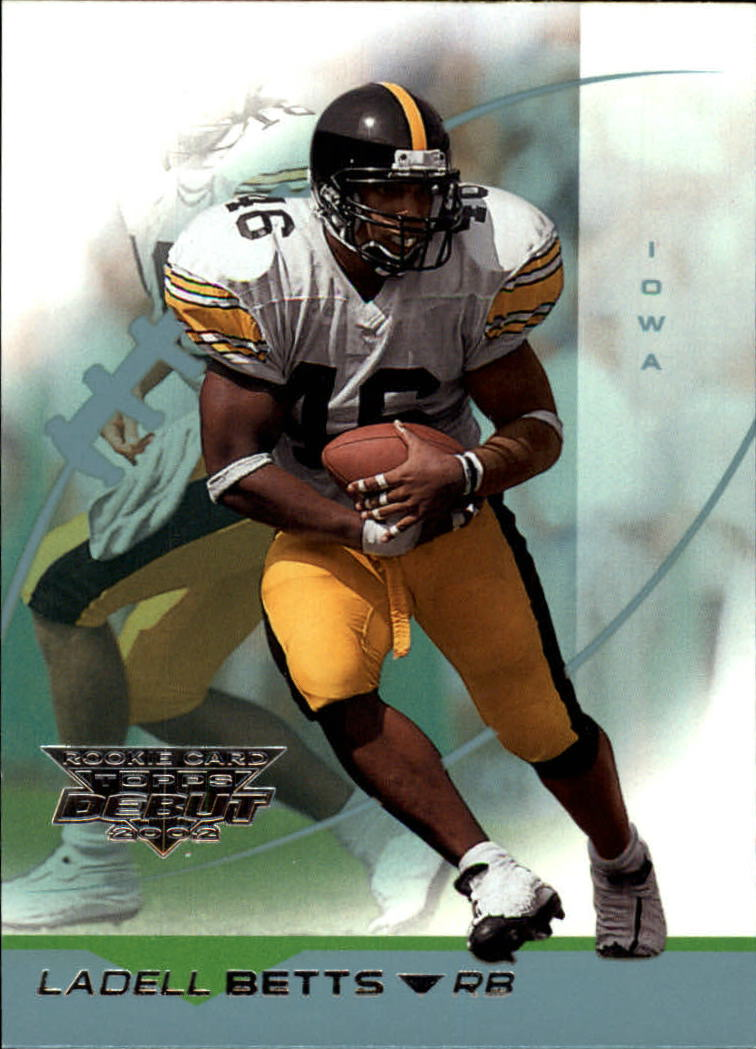 2002 Topps Debut #166 Ladell Betts RC