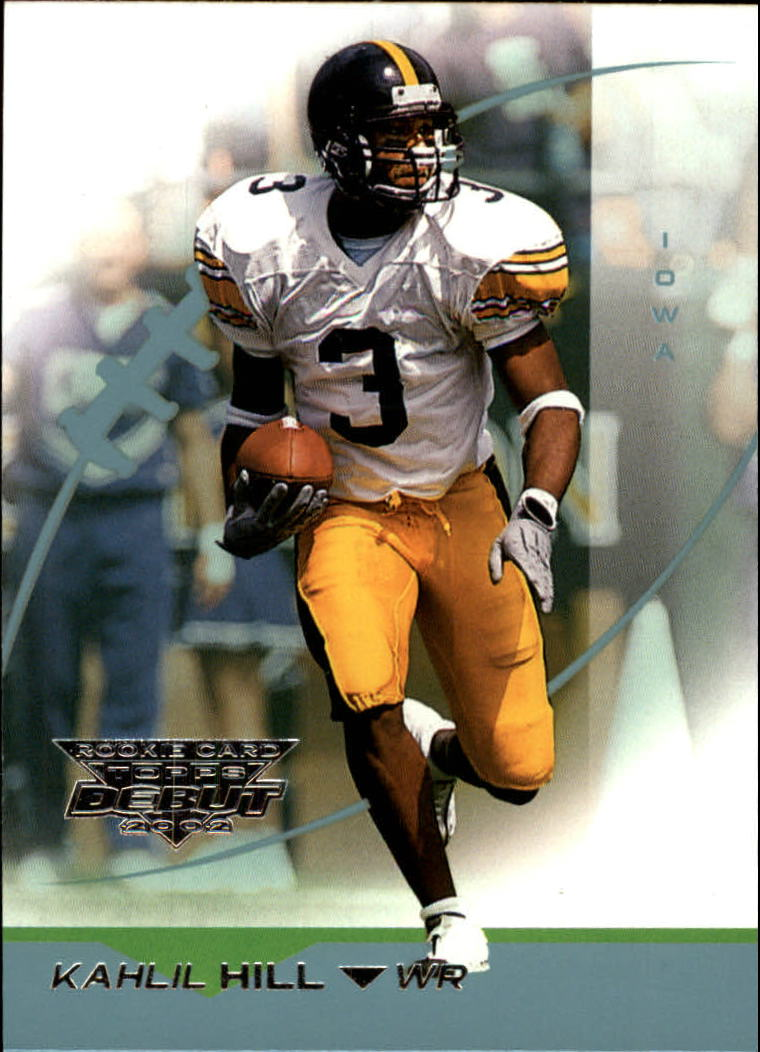 2002 Topps Debut #172 Kahlil Hill RC