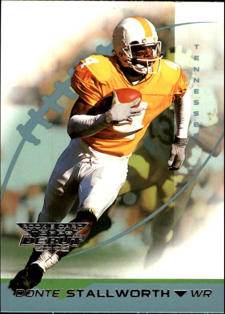 2002 Topps Debut #174 Donte Stallworth RC