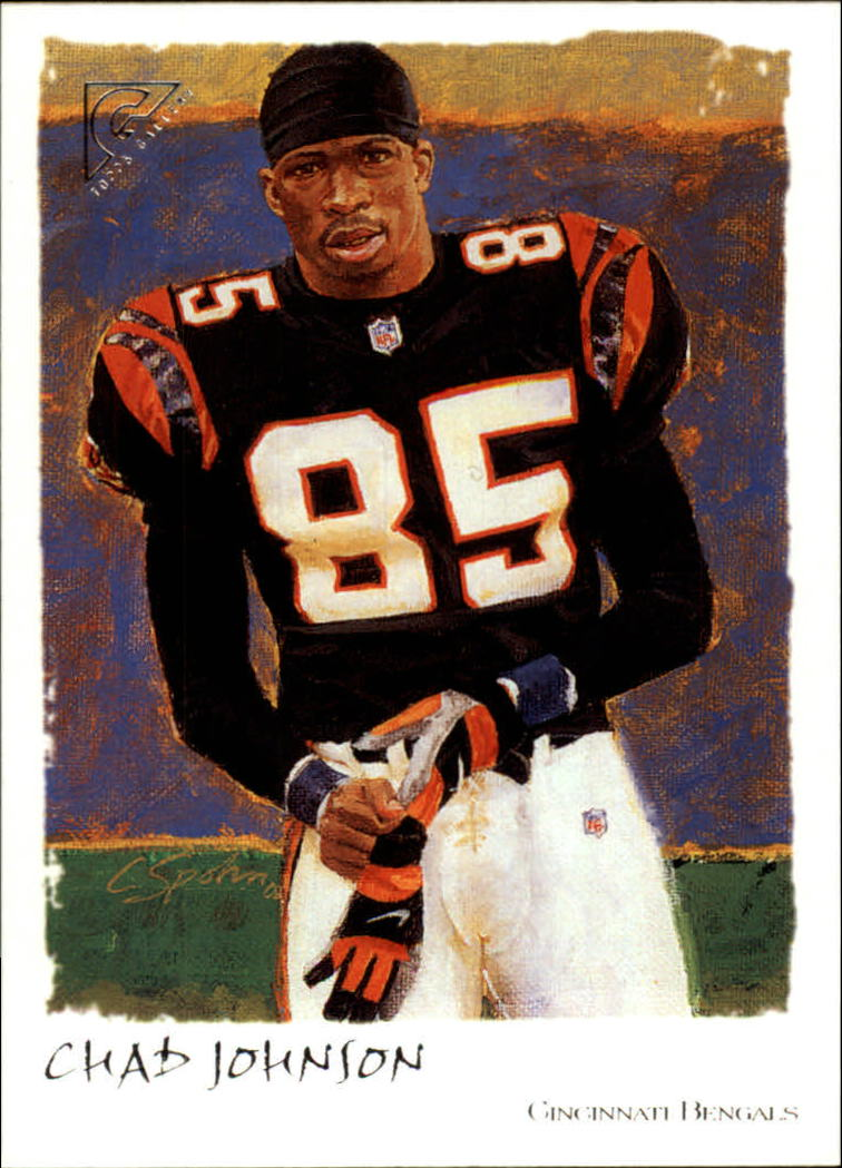 2002 Topps Gallery #43 Chad Johnson