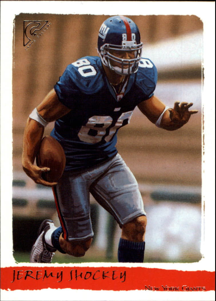 2002 Topps Gallery #167 Jeremy Shockey RC
