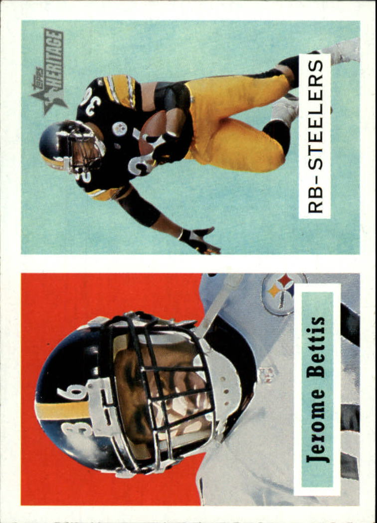 2002 Topps Heritage #1 Jerome Bettis