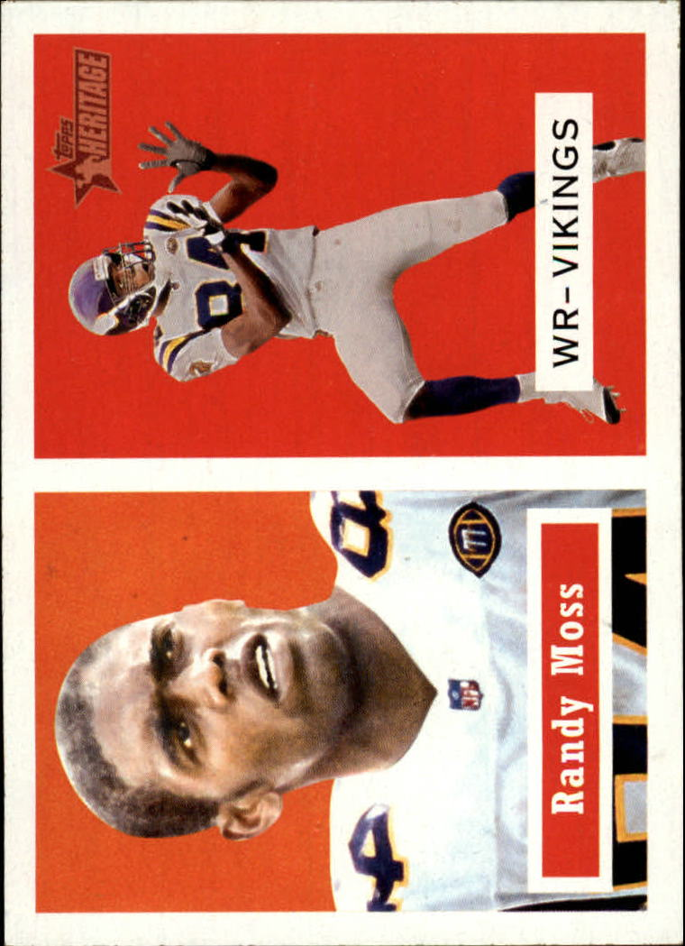 2002 Topps Heritage #6 Randy Moss