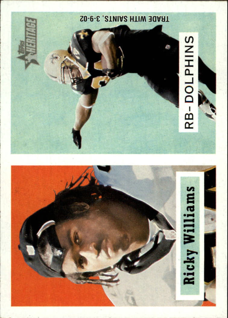2002 Topps Heritage #11 Ricky Williams
