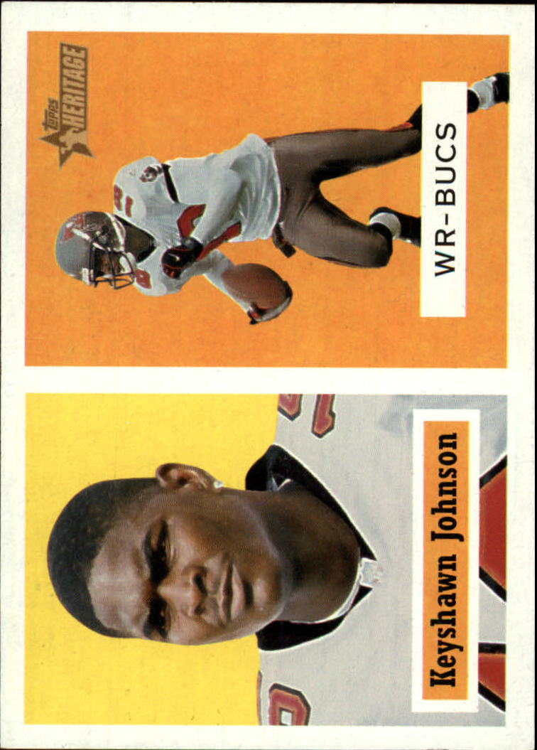2002 Topps Heritage #58 Keyshawn Johnson