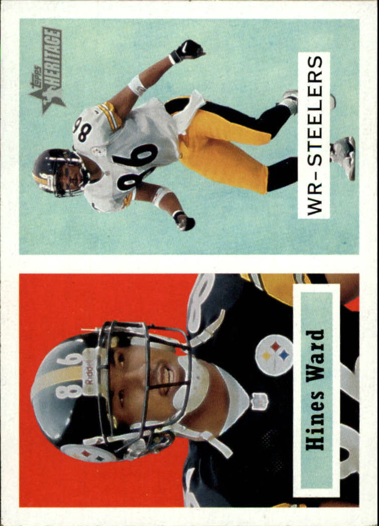 2002 Topps Heritage #98 Hines Ward