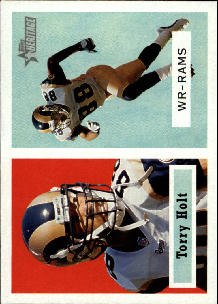 2002 Topps Heritage #126 Torry Holt