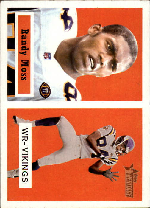 2002 Topps Heritage Black Backs #6 Randy Moss