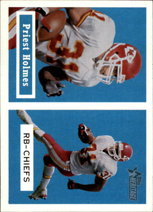 2002 Topps Heritage Black Backs #28 Priest Holmes