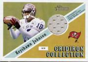 2002 Topps Heritage Gridiron Collection Jerseys #GCKJ Keyshawn Johnson