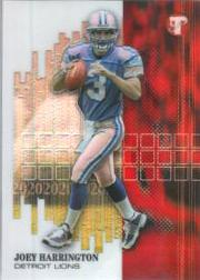 2002 Topps Pristine Refractors #52 Joey Harrington U