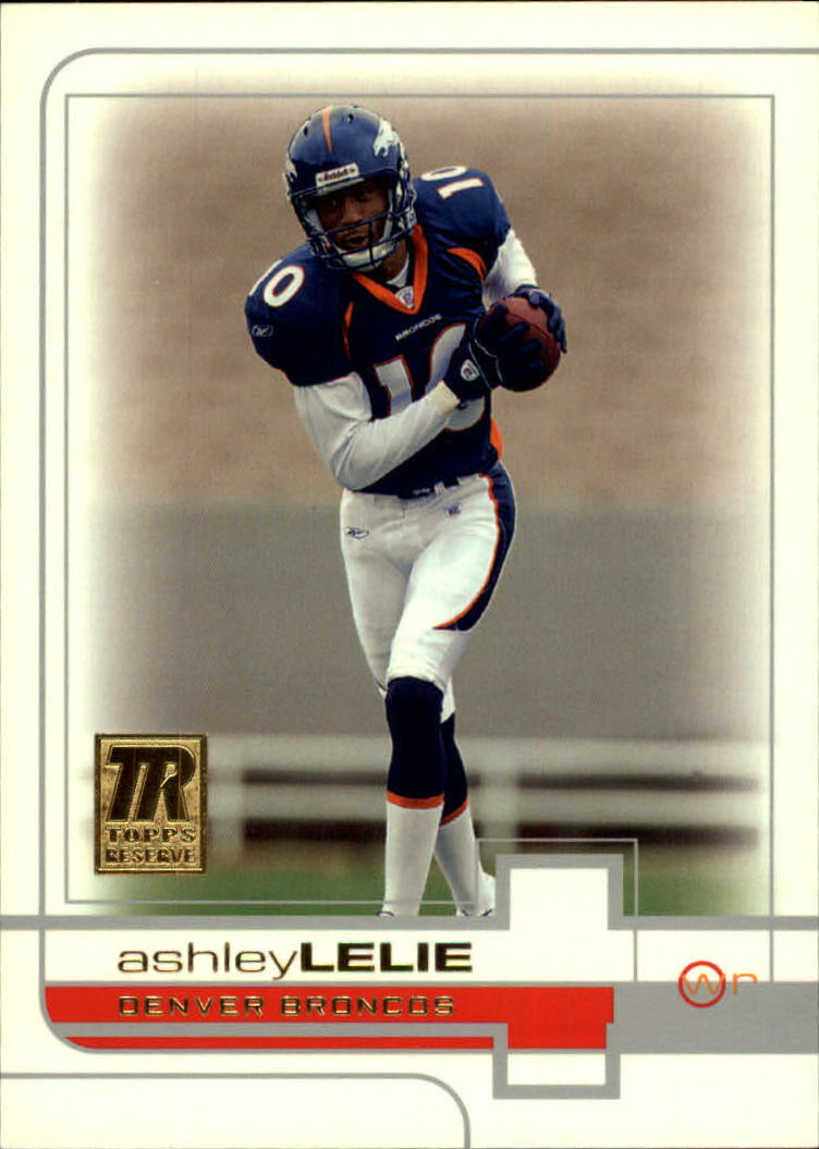 2002 Topps Reserve #137 Ashley Lelie RC