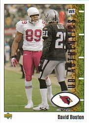 2002 UD Authentics #2 David Boston