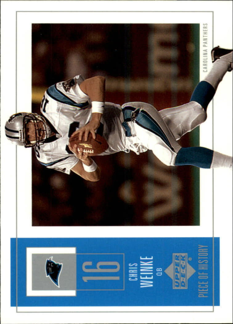 2002 UD Piece of History #12 Chris Weinke