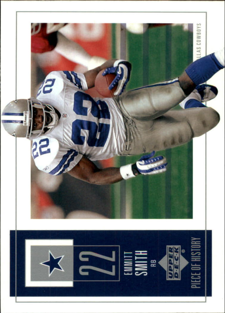 2002 UD Piece of History #26 Emmitt Smith