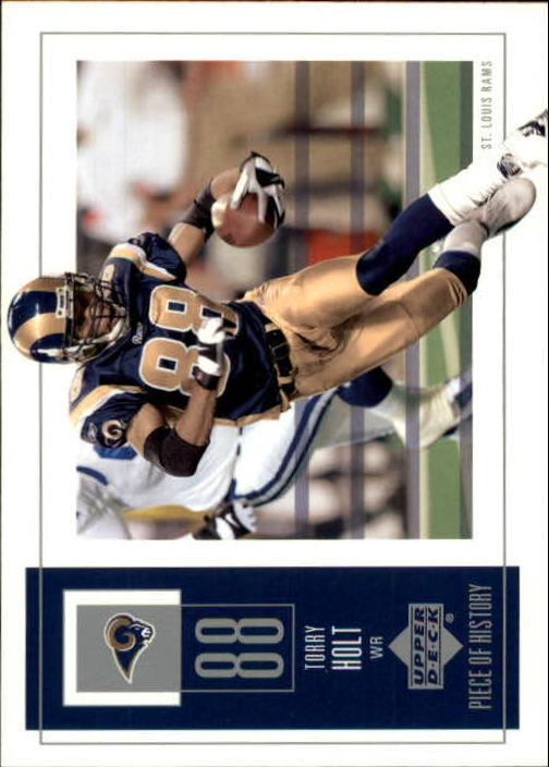 2002 UD Piece of History #92 Torry Holt