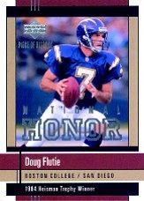 2002 UD Piece of History National Honors #NH1 Doug Flutie