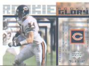 2002 UD Piece of History Rookie Glory #RG1 Brian Urlacher